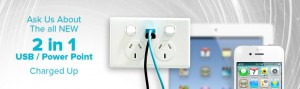 Power Points With USB Charging Outlets