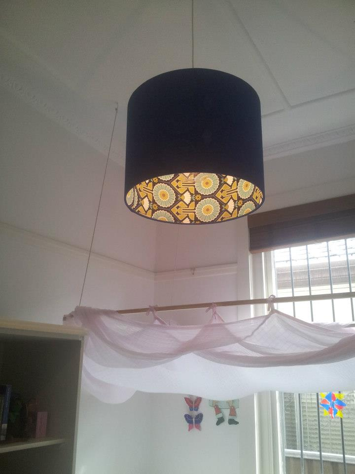 Lamp Shade Installation