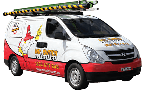 Mr Switch Electrician Sydney Van