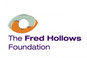 We sponsor Fred Hollows Foundation