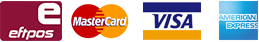 accepted payments credit card, eftpos